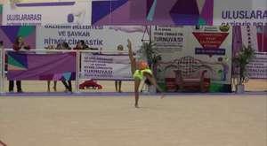 I. Uluslararası Gaziemir Şavkar Ritmik Cimnastik Turnuvası