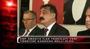 CHP Amasya İlçe Teşkilatı Yeni Yönetim Kadrosu Belli Oldu
