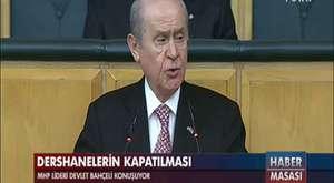 Habertürk yine Bahçeli'nin sözünü kesti - Alo Fatih
