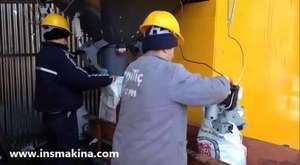 ins makina Komur kırma eleme tasıma ve paketleme tesisi - COAL CRUSHING AND PACKING PLANT