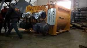 twin shaft concrete mixers - Concrete batching plants