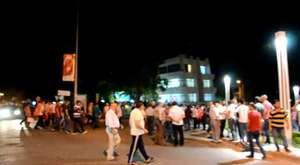 Kırkağaç'ta  Darbeye Karşı Protesto