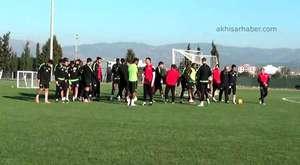 Akhisar Belediyespor, Ligde Konuk Ececeği Trabzonspor Maçı Hazırlıklarına Başladı