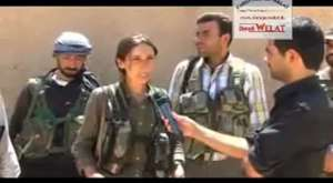 Rojava dan canli goruntuler 3